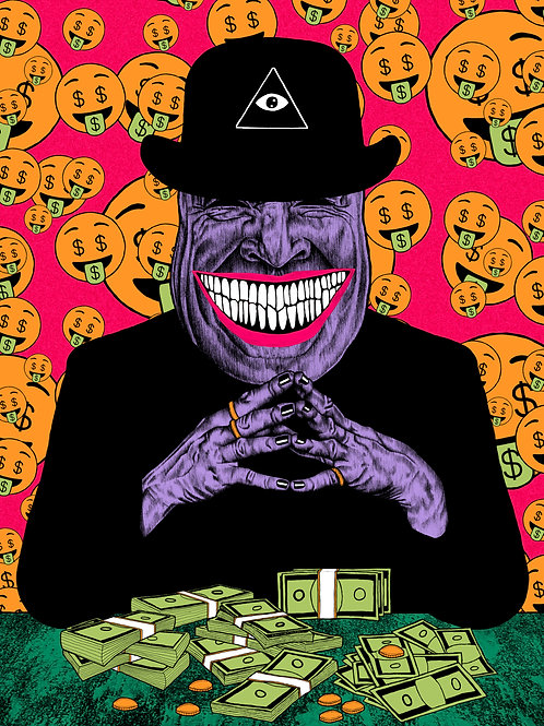 MR. MONEY 8x10 Print