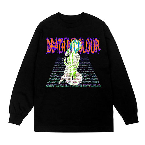 DEATH IN COLOUR Long sleeved T-Shirt