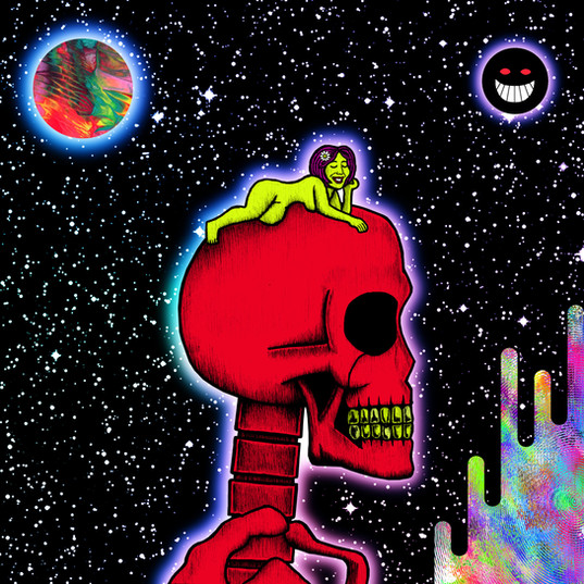 A RED SKELETON VS. THE WORLD 2