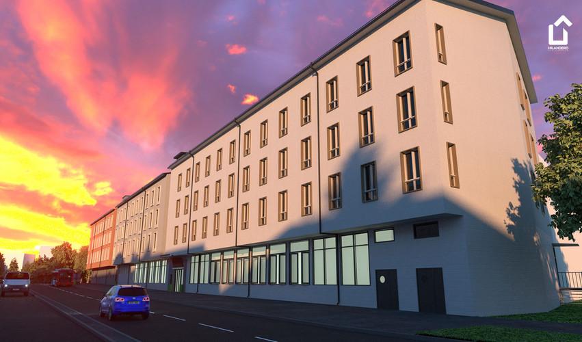 Hilandero Linkoping modular building
