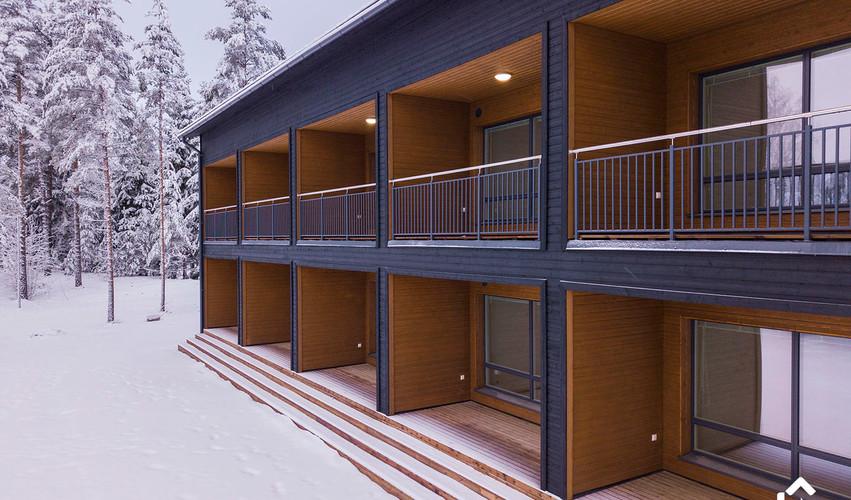 Hilandero Tammisaari modular building