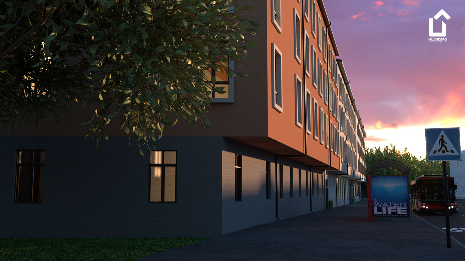 Hilandero Linkoping modular building