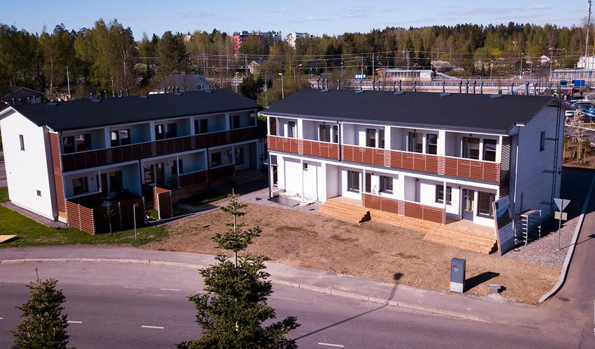 Hilandero Järvenpää modular building