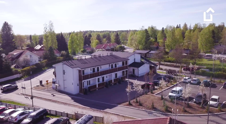 Hilandero Järvenpää modular building video