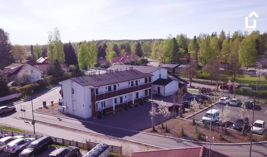 Hilandero Järvenpää modular building video