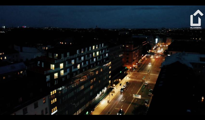 Hilandero Stockholm modular building video