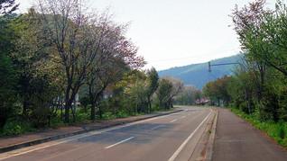滝上町濁川のドライブルート