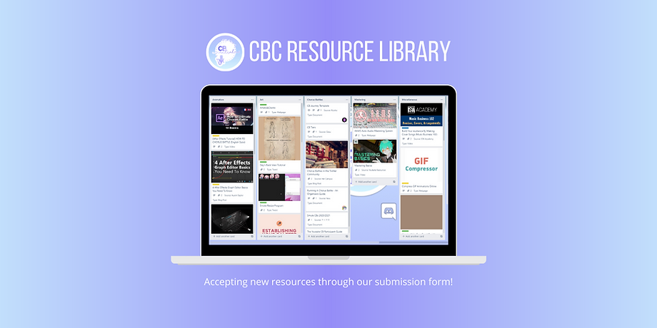 CBC Resource Library Promotional Graphic
