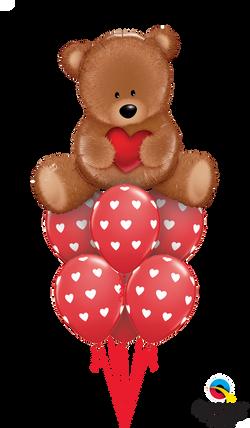 16453  76928  Teddy Bear Love Luxury