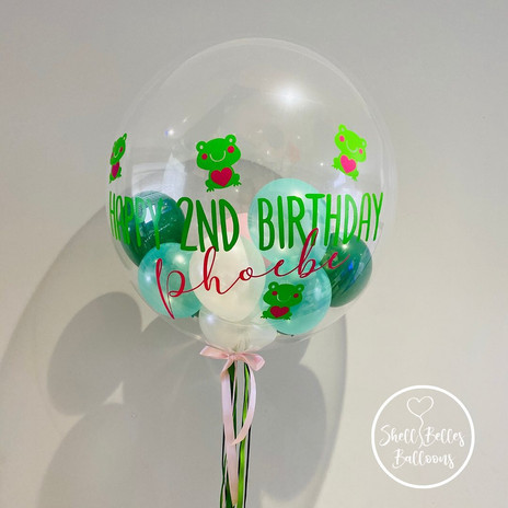 Personalised Bubbles