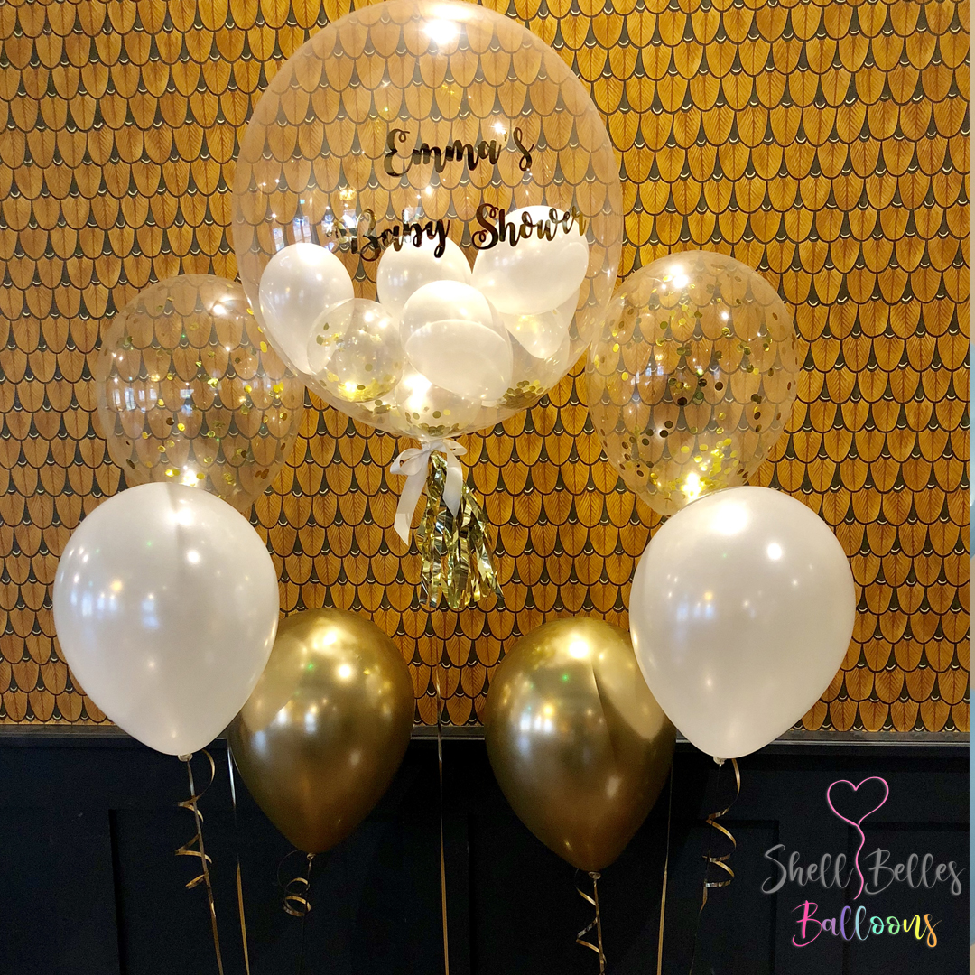 Baby Shower - Gold