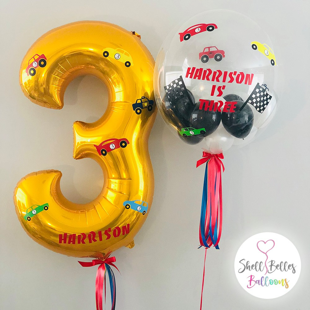 Personalised Number & Bubble