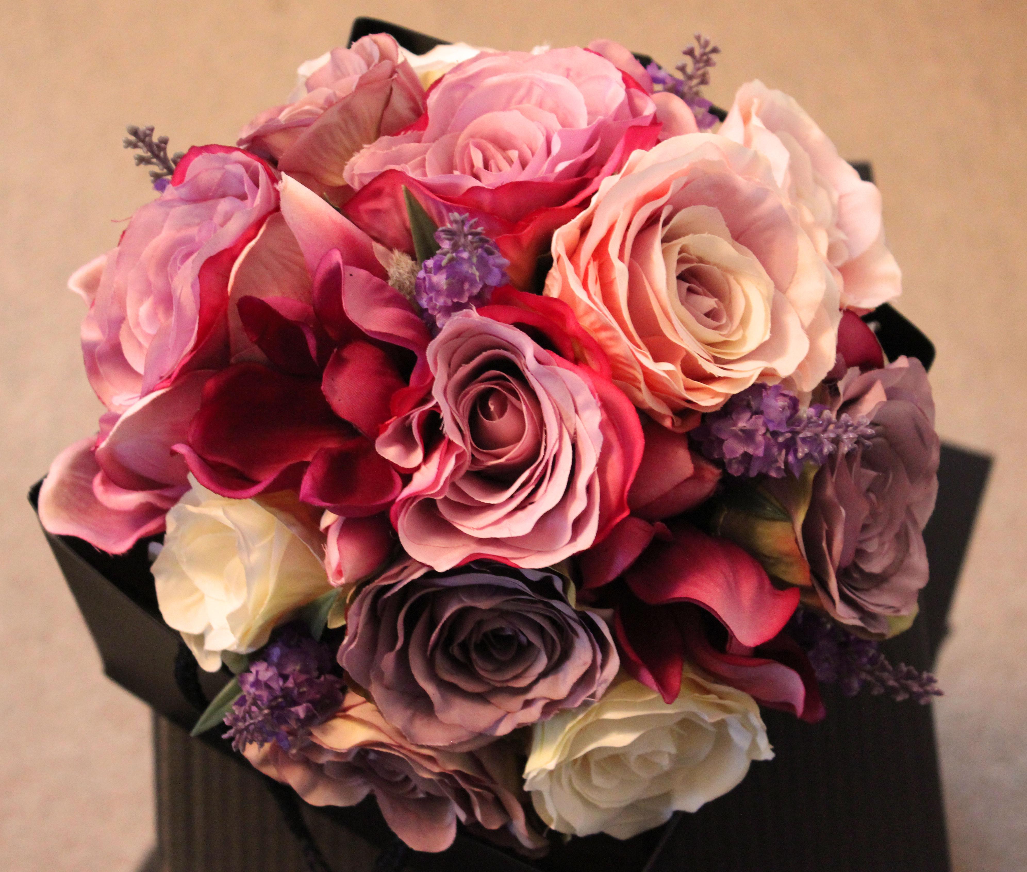 Pastel Perfection Artificial Bouquet