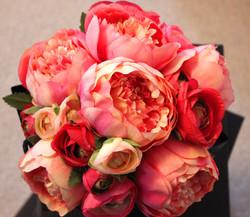 Peachy Perfect Artificial Bouquet
