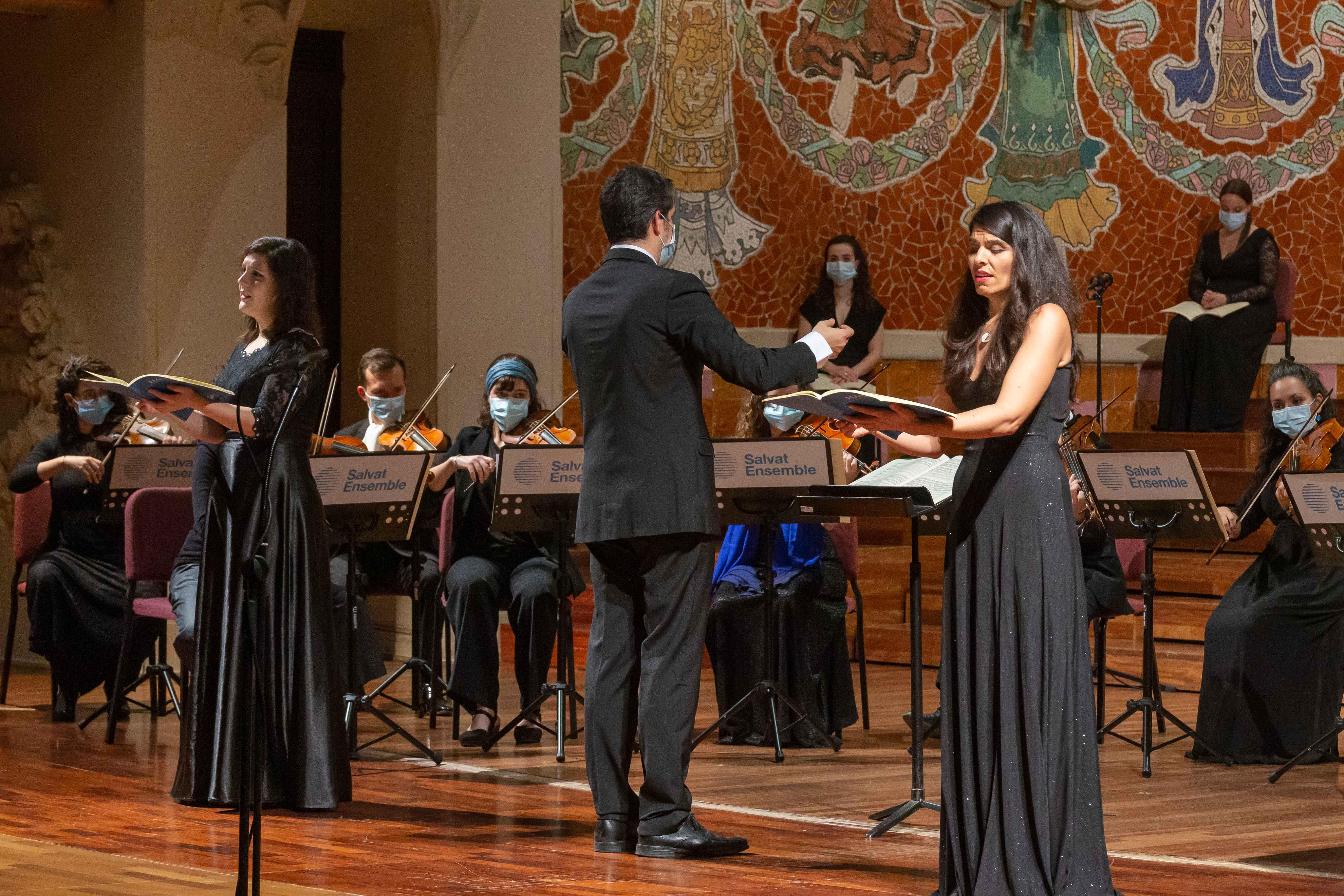 Anaïs Oliveras i Aurora Peña