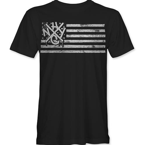 FLAG - White - T-Shirt
