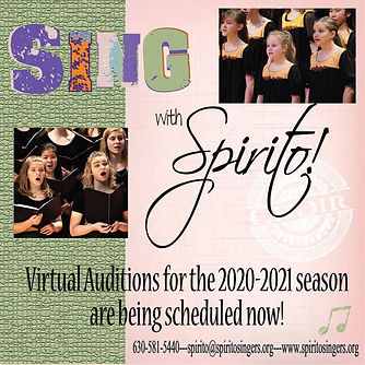 2020-2021 Virtual Auditions