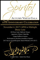Spirito! Autumn Voices Gala