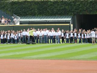 Spirito! Singers To Sing National Anthem at White Sox Game