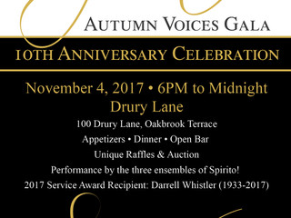 Autumn Voices Gala this weekend!