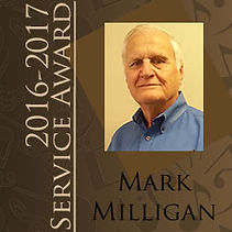 Mark Milligan Spirito! Service Award 2016-2017