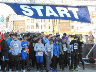 Men of Spirito! Sing @ Annual Turkey Trot
