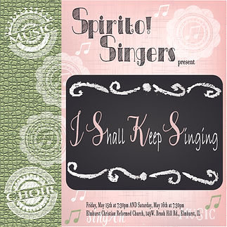 Spirito! Singers 2020 Spring Concerts