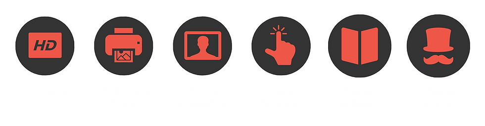 photo booth hire features