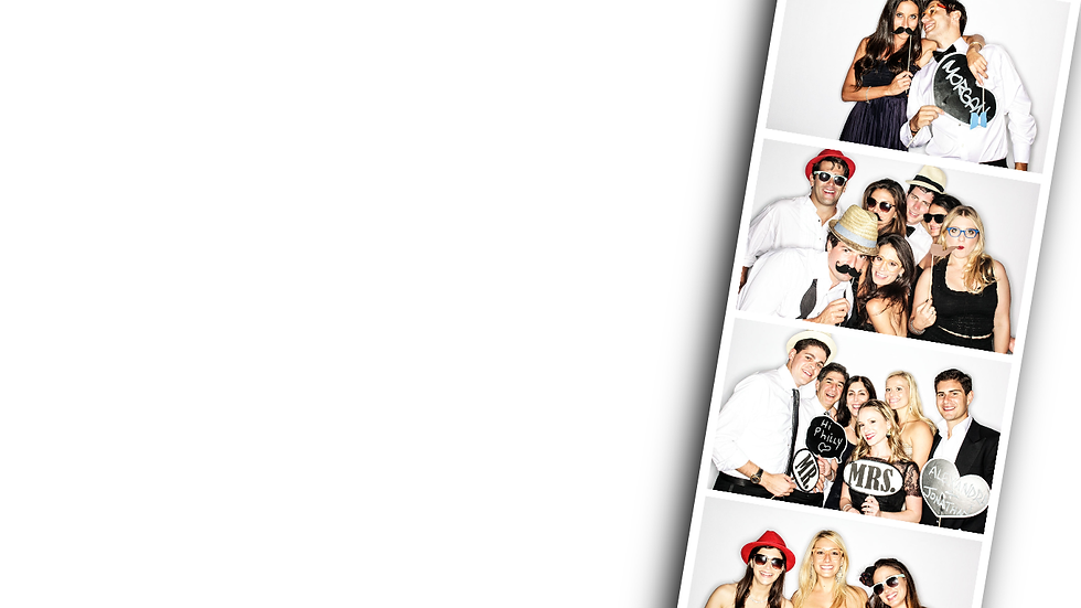 photo booth hire strip