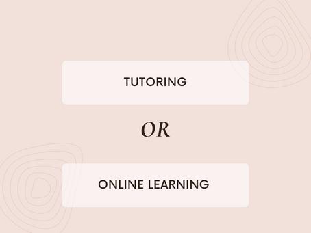 Online V Face-to-Face Tutoring