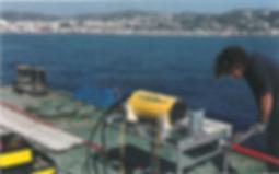 Echipament utilizat în cadrul proiectelor de monitorizare cu fibră optică