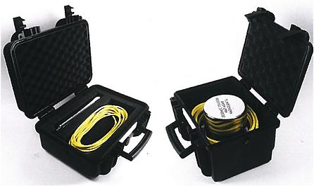 Parte a subansabului unui echipament utilizat în cadrul proiectelor de monitorizare cu fibră optică