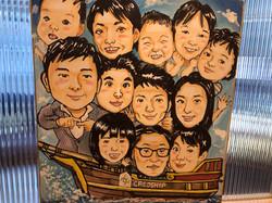 【社内】船に乗るみんな