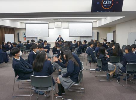 近畿大学附属高等学校でキャリア教育授業を行いました!