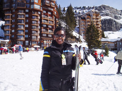 Ch 5 - Karla Skiing the French Alps