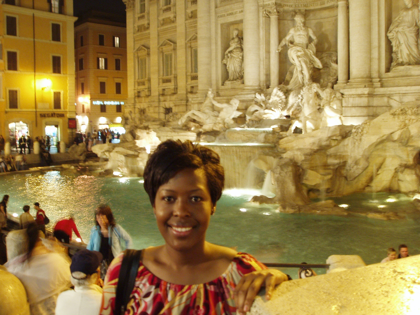 Ch 5 - The Trevi Fountain, Italy