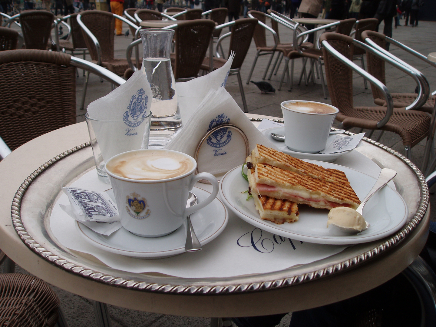 Ch 5 - Breakfast in Piazza San Marco Venice