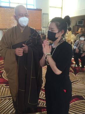 Master JiRu Performed a Ceromny for a De