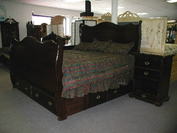 The Victorian Sleigh Bed Collection
