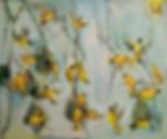 Sophe Walbeoffe Weave Birds Painting