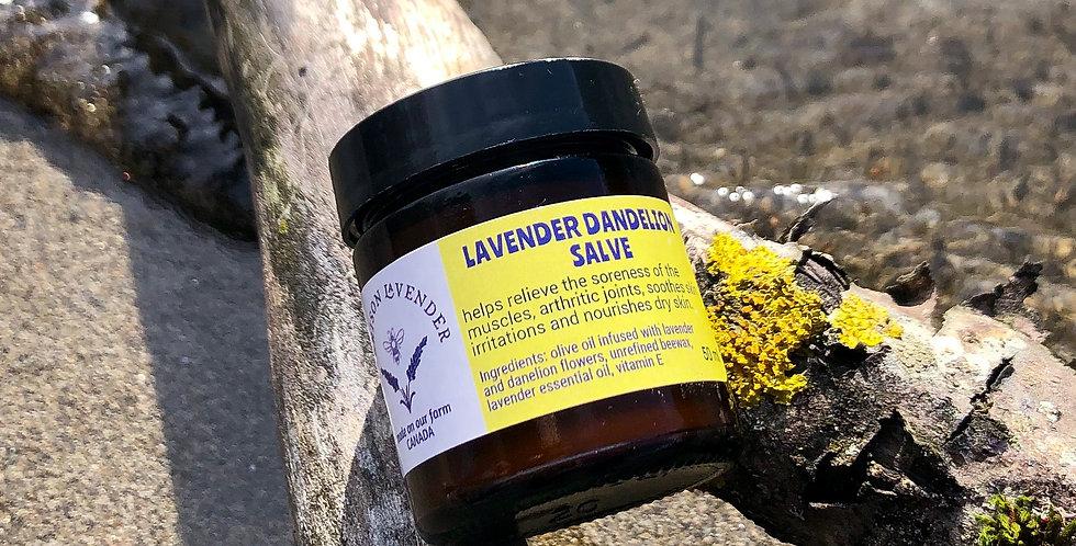 Lavender Dandelion Salve