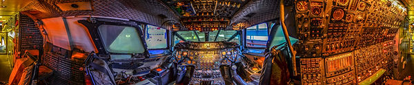Concorde flightdeck