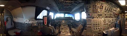 Concorde G-BOAC Flightdeck