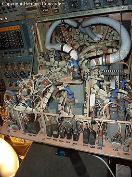 Concorde Flight engineers panel