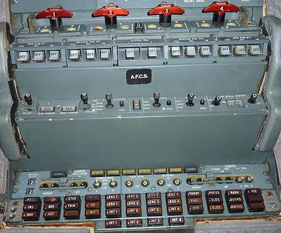 Concorde overhead panel