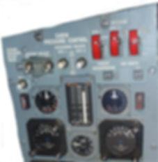Concorde cabin pressure control