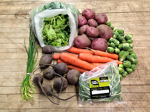 Online Store Winter Produce