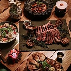 經典戰斧牛排四人套餐