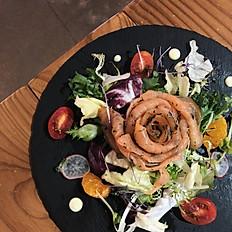 茴香生鮭魚沙拉 Nordic Salmon Gravlax Salad