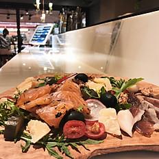 自製鴨胸生火腿與鮭魚拼盤 Gravlax & Duck Prosciutto